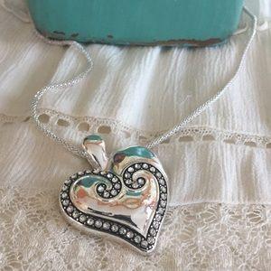 💕Pretty Heart Necklace 💕